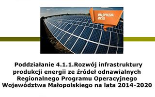 Gmina Koniusza - OZE