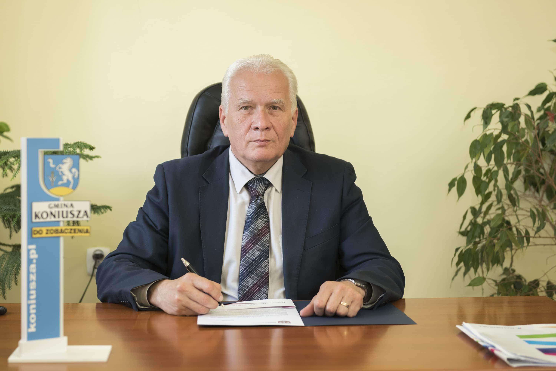 Wójt Gminy Koniusza - Wiesław Rudek