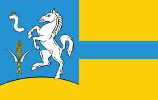 Flaga gminy Koniusza