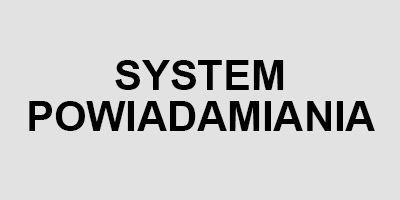 system powiadamiania