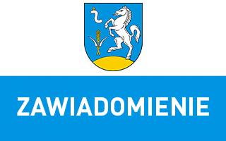 Gmina Koniusza - Zawiadomienie